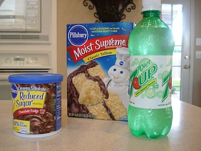 Peeptoe Pumps and Pearls: Diet Soda Cake