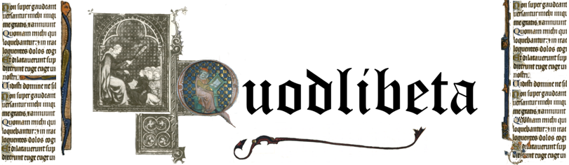 Quodlibeta