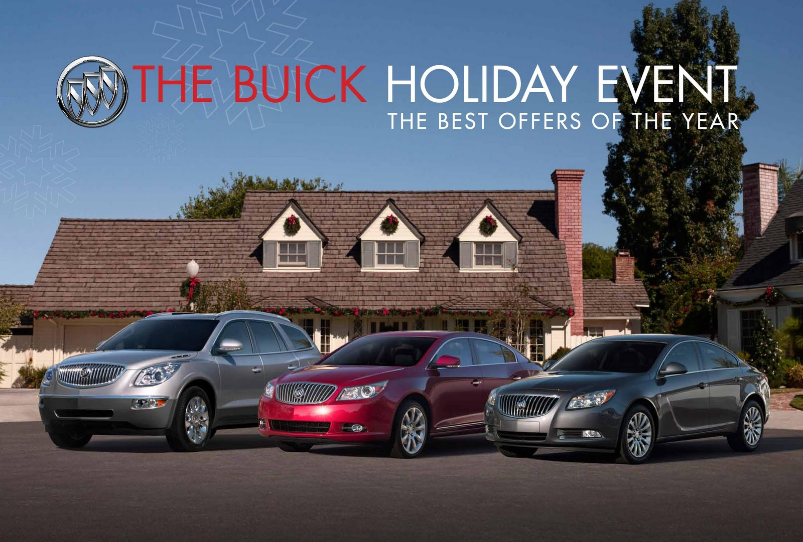 The buick and gmc holiday event at keyes woodland hills gm