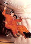 Kay E in Zero-G