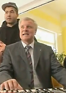 Rapper Horst Seehofer (CSU)