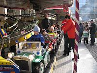 Auf dem Chemnitzer Weihnachtsmarkt
