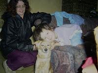 Tante Andrea und ihr Hund weckten mich