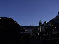 Ein letzter Blick über den Annaberger Weihnachtsmarkt 2006