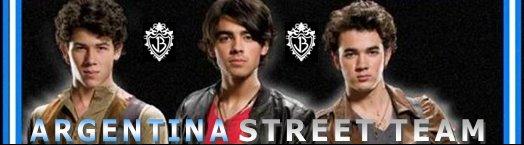 Jonas Brothers Argentina Street Team