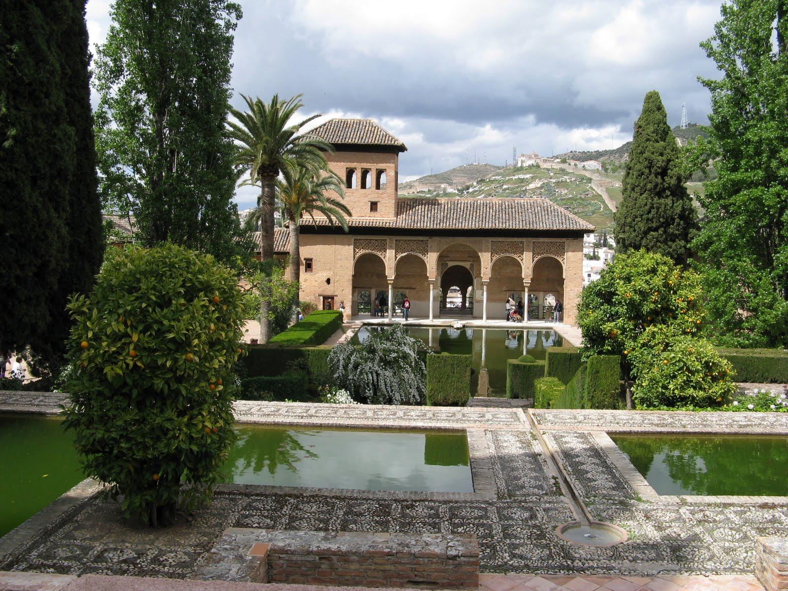 Los sitios tur sticos en espa a granada espa a for Arquitectura islamica en espana