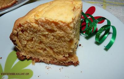 Eggless Plain Cake Recipe