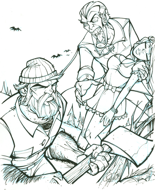 paul bunyan coloring page - the gallery for sleepy hollow coloring page