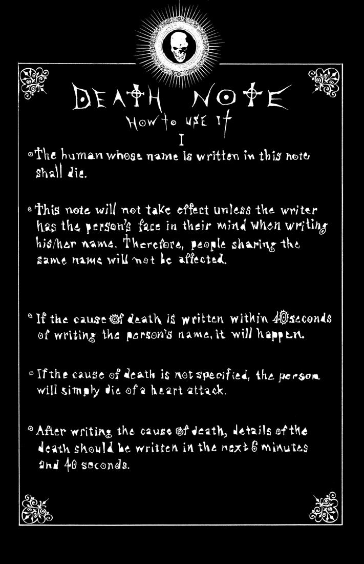 Как сделать тетрадь смерти