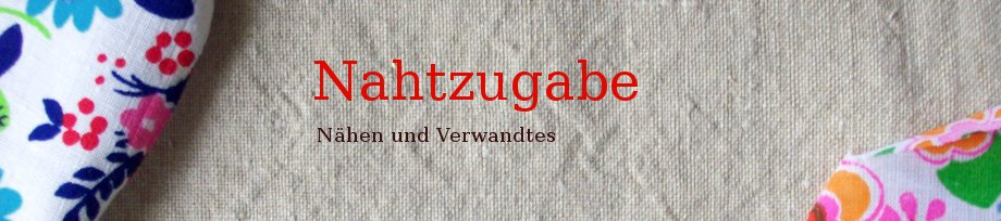 Nahtzugabe