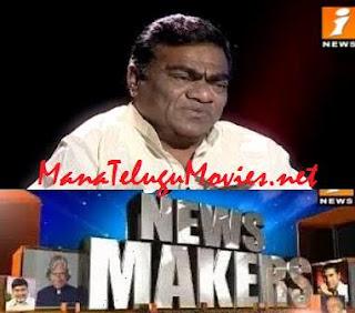BabuMohan in NewsMaker with Krishnasagar