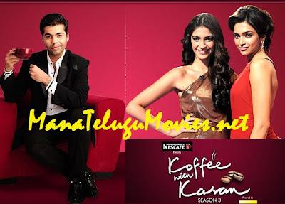 Deepika and Sonam in Koffee with Karan :E 3