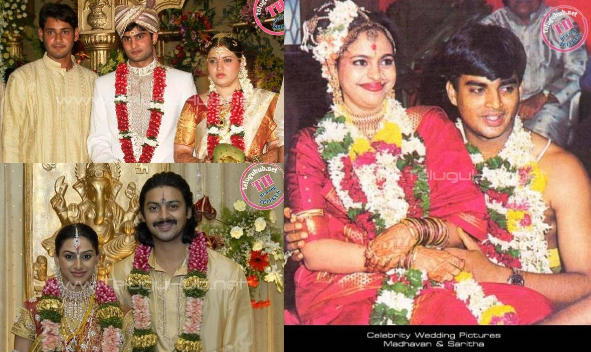 Celebrity Wedding Pictures - Exclusive Collection | ManaTeluguMovies