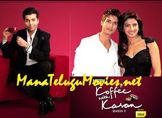 Shahid & Priyanka in Koffee with Karan -19th Dec