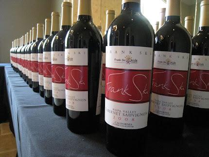 Frank Ski's Celebrity Wine Tasting
