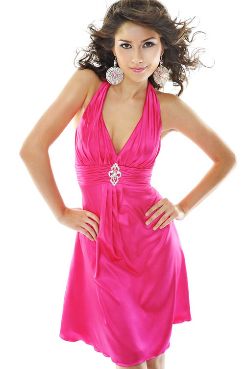Pink Prom Dresses Design for