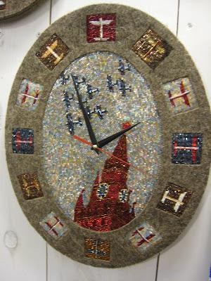 Olga Soldatova bead clock
