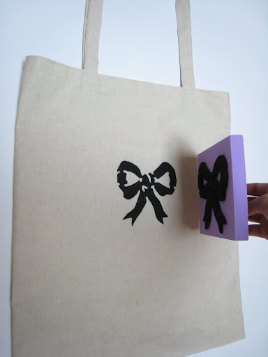 Customized shopper bag