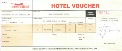 Beli voucher hotel = lebih murah dari pada datang dan bayar (walk in)
