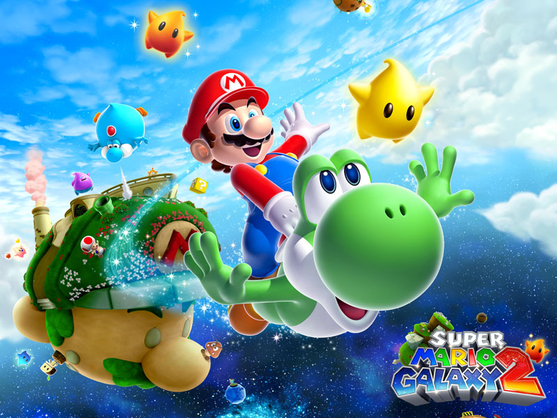 Super Mario Galaxy 2 Cheats