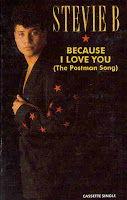 """Top 100 Songs 1991 """"Because I Love You (The Postman Song)"""" Stevie B"""