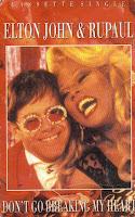 """90's Music """"Don't Go Breaking My Heart"""" Elton John & RuPaul"""