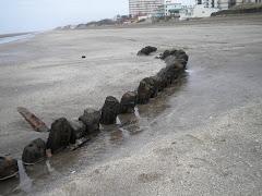 restos del naufragio La Margarita