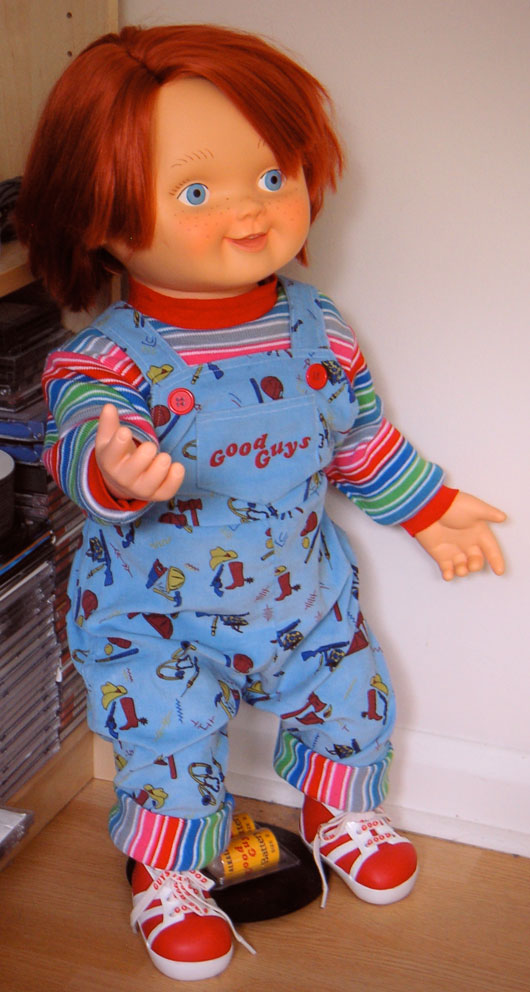 Childs Play Good Guy Doll http://www.shopitoff.co.uk/general/good-guy-chucky-doll.html