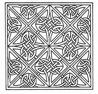 кельтский узор