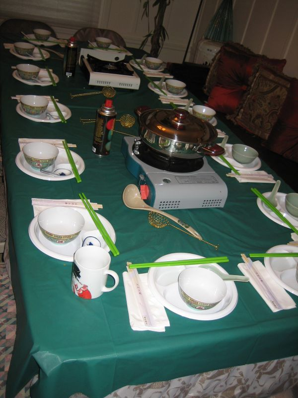 how to make hot pot table