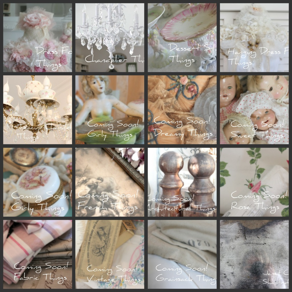Loads of Girly Things, French Things, Sweet Things, Vintage Things.