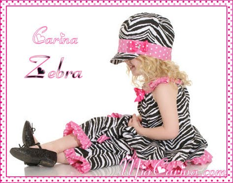 Carina Zebra CUTE girls clothes 2009