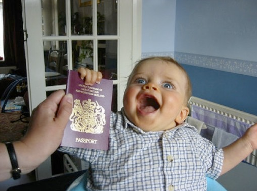 how to get us passport for baby