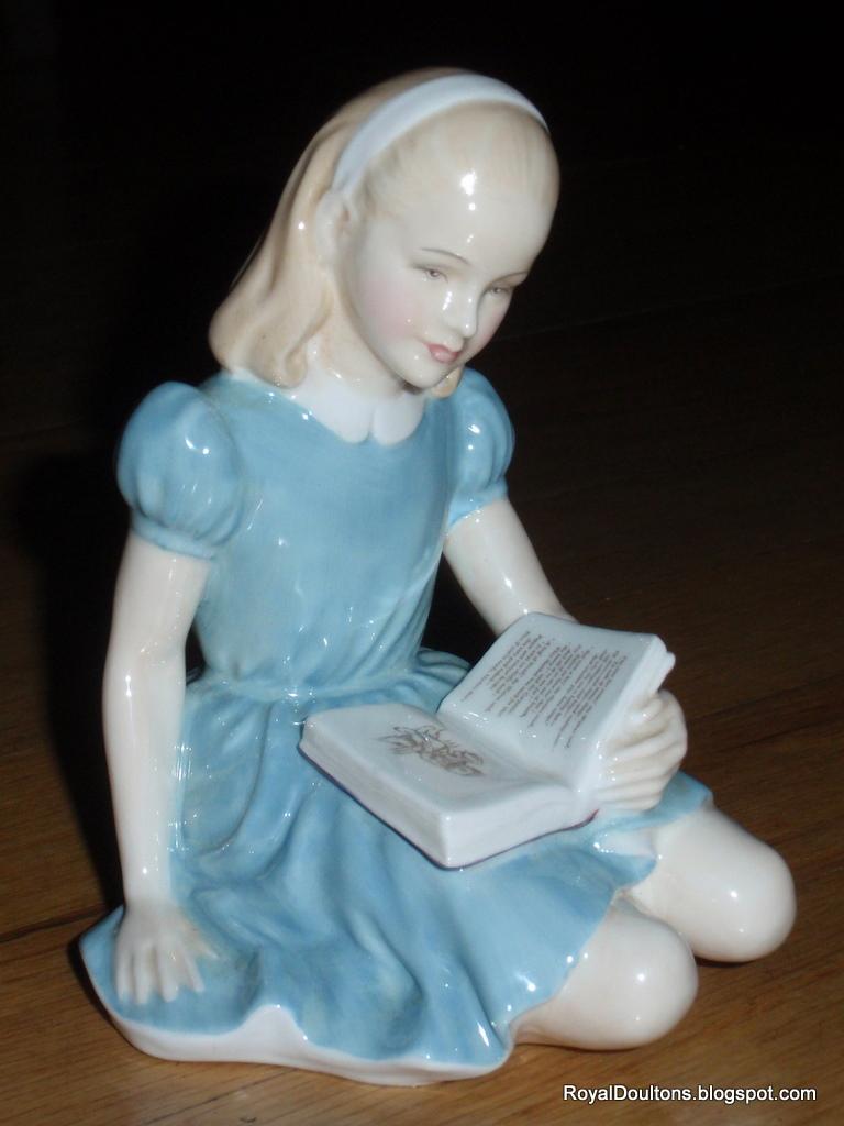 Royaldoultons Royal Doulton Figurine Alice Hn 2158