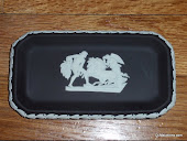 Wedgwood Chariot Tray Black
