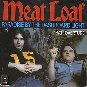 meat loaf paradise dashboard light