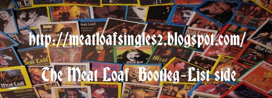Meat Loaf Bootleg List