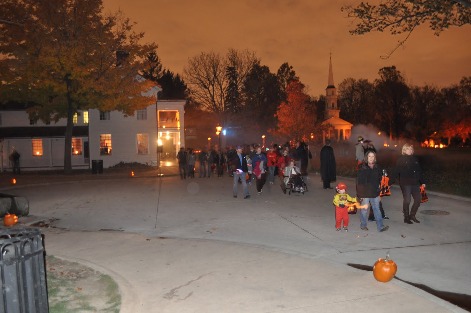 Keeping Up With The Gayeski's: Greenfield Village at Halloween