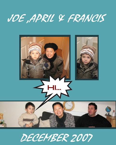 Joe April & Francis