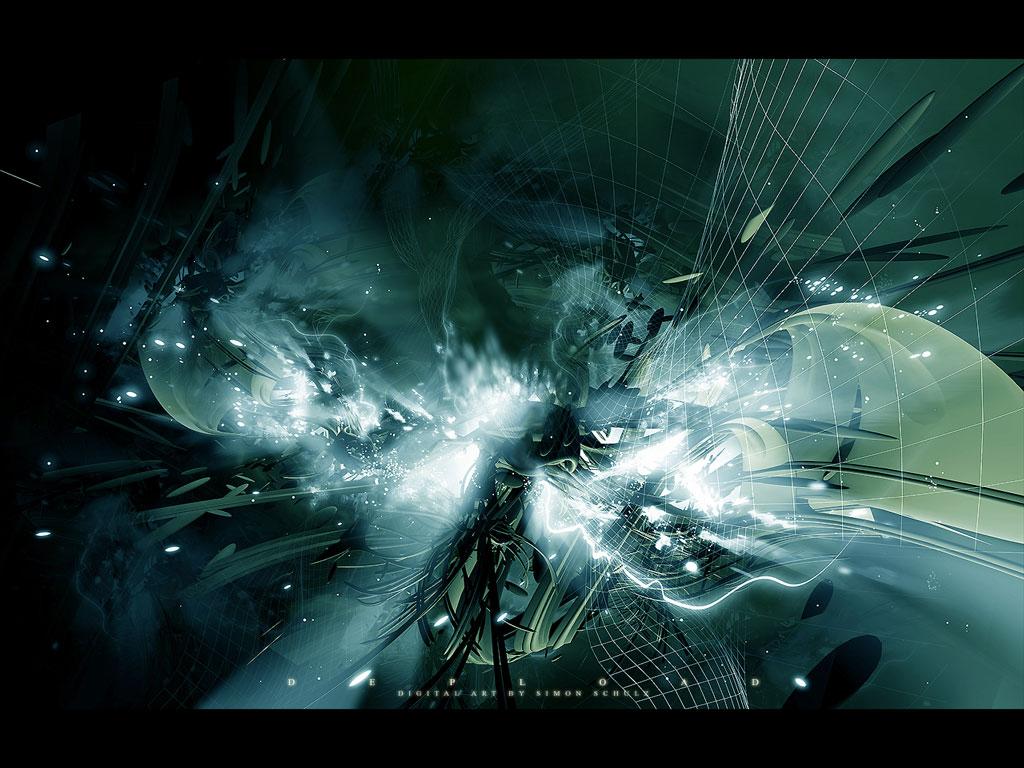 Digital Fantasy Abstact