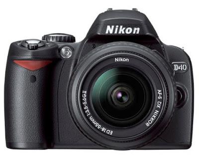 nikon d40 slr. Nikon D40 Digital SLR has