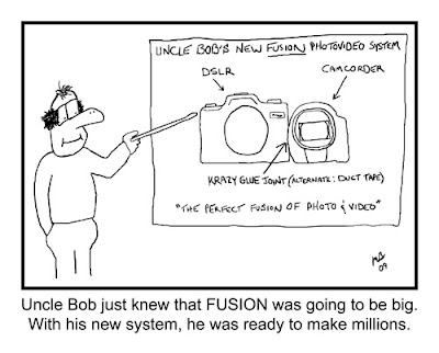 Uncle Bob's New Fusion Photo Video System