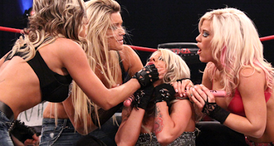 Madison Rayne vs Angelina Love to retain the TNA Knockout's Title