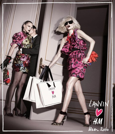 It's with Lavin! From what I've seen it seems to be a pretty hot collection, ...