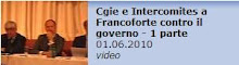 CGIE e INTERCOMITES  a Francoforte
