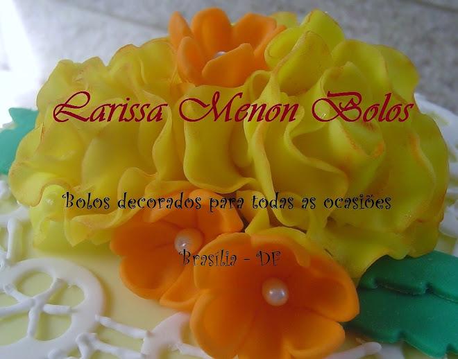 Larissa Menon Bolos Decorados