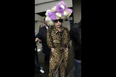 Aksi Lady Gaga
