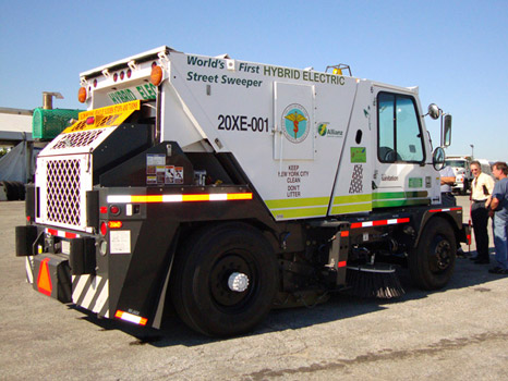 Hybrid Cars Motorized Street Sweeper Worlds First Easy To Share - Nyc street sweeping map