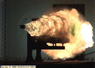 rail gun Senjata Senjata Penghancur Tercanggih di Dunia