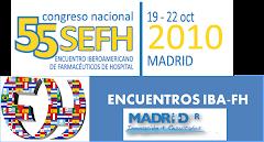 Presentación del 55 Congreso SEFH. MADRID 2010